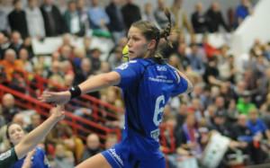 Xenia Smits traf beim Thüringer HC achtmal. Foto: brink-medien