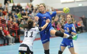 Isabelle Jongenelen markierte acht Treffer gegen Göppingen. Foto: brink-medien