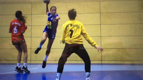 Mia Ziercke in Aktion, Foto: Handballverband Westfalen