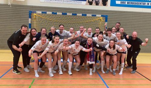 Sie wollen ins Final Four: die B-Mädels der HSG Blomberg-Lippe